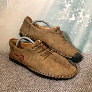 Other - NEW Casual Brown Leather Fashion Sport Shoes